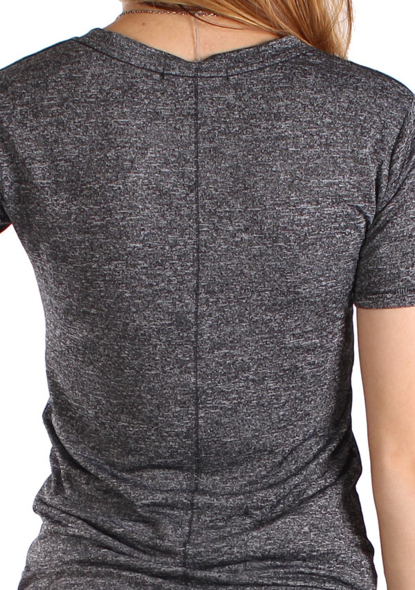 The Classic V in Charcoal Grey