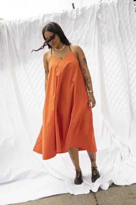Studio Nicholson Oahu Dress - Tomato