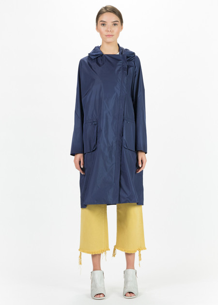 Hudson Lightweight Asymmetrical Zip Coat