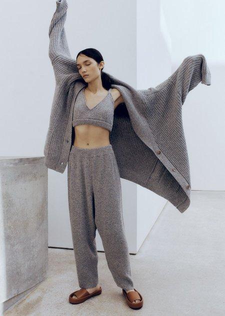 Monica Cordera Soft Wool Pants - Grey
