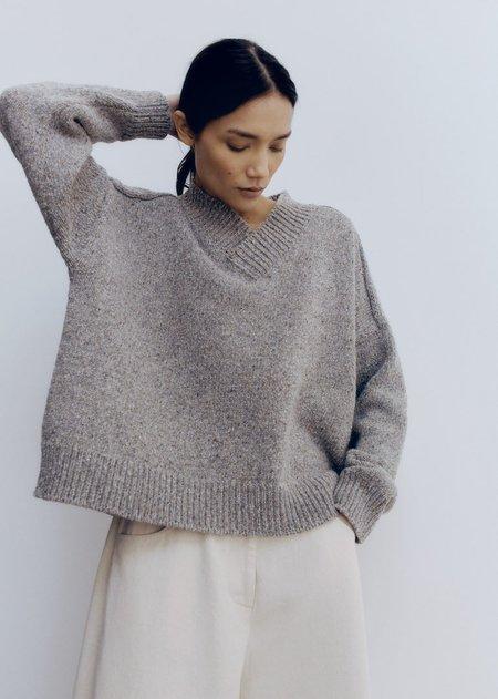 Monica Cordera Soft Wool Sweater - Grey