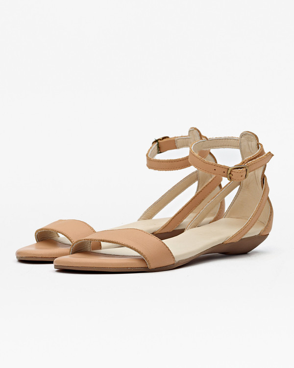 Nisolo Serena Sandal Pale Honey
