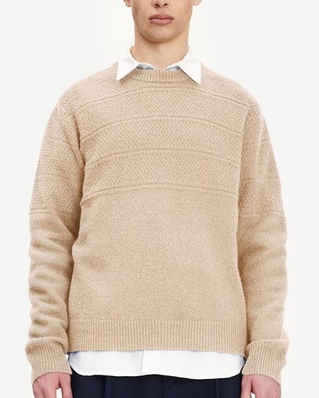 Samsøe & Samsøe Aiden Crew Neck 14071 Sweater - Humus