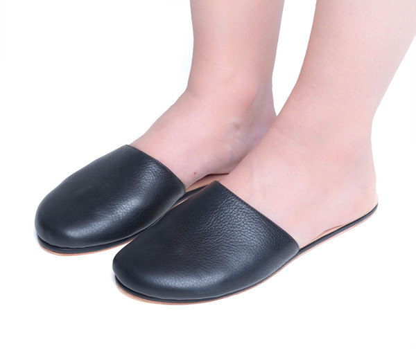 The Palatines Shoes Cognitio Mule - Black
