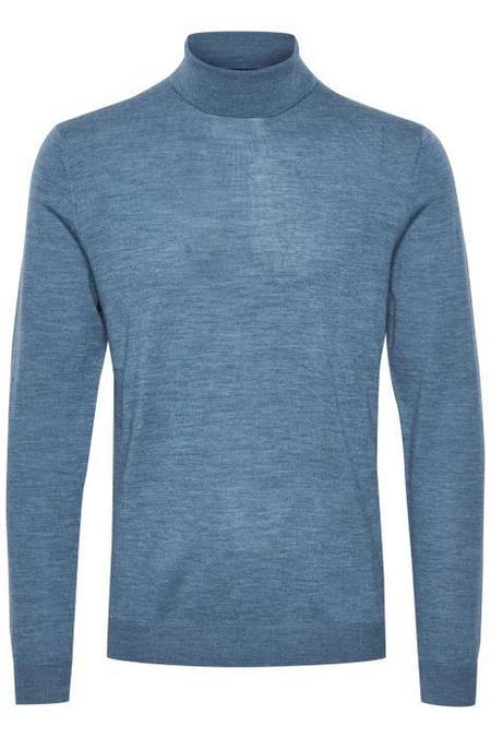 MATINIQUE Parcusman Merino Sweater - Dust Blue Melange