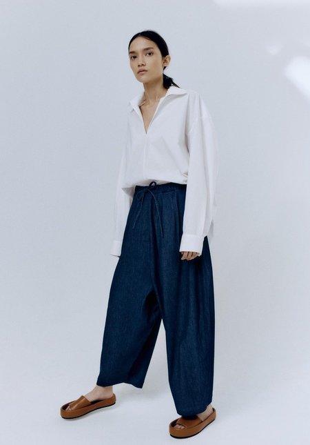 Monica Cordera Denim Maxi Pants