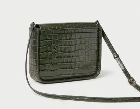 Loeffler Randall Lourdes Crossbody bag - Forest