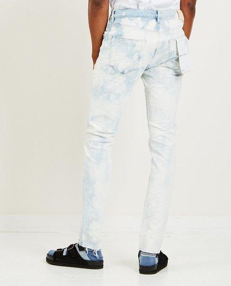 Purple Brand Slim Fit Jeans - Two Tone Indigo Bleach