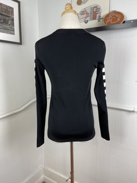 [Pre-Loved] Rag & Bone Striped Sweater - Black/White