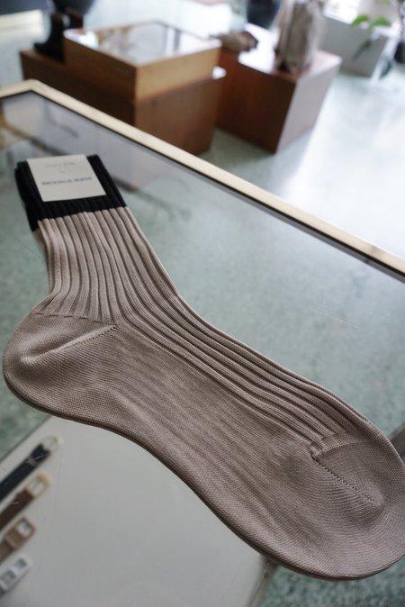 SOFIE D'HOORE FOUR SOCKS - SAND