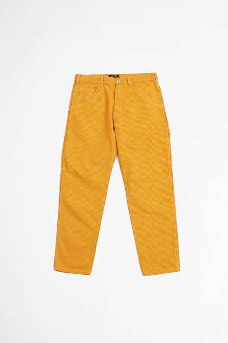 UNISEX Stan Ray 80s Painter pants - orange/khaki hickory