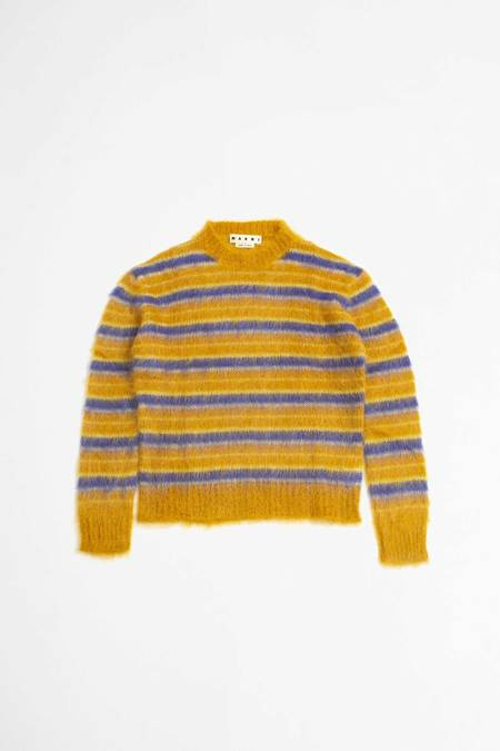Marni Crew neck sweater - gold