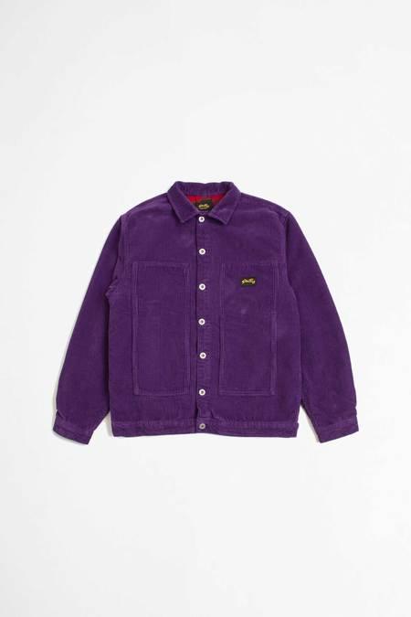 Stan Ray Winter box jacket - purple cord