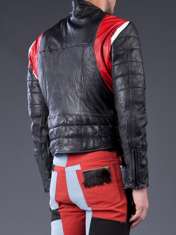 Men's Horace leather Biker Jacket