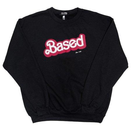 Unisex Skim Milk Based sweater - Black
