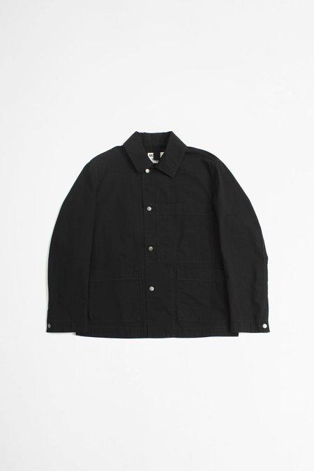 Margaret Howell Big pocket compact cotton drill jacket - black