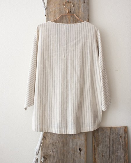 Esby REESE TOP - VERTICAL STONE STRIPE