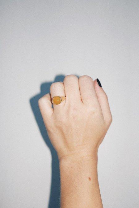 Unisex Luiny Krasner Ring - Yellow