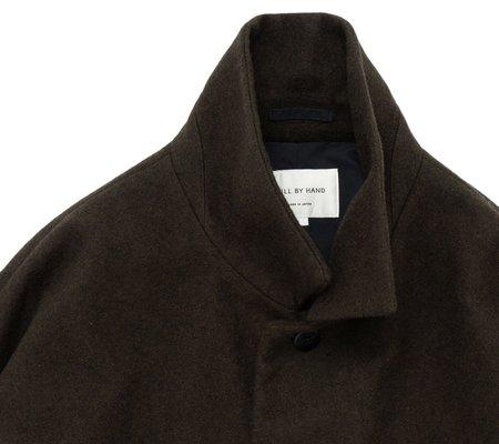 Still By Hand Dolman Sleeve Melton Jacket - Khaki