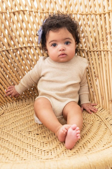 Kids Mila ChristinaMC Cashmere Baby Set - Oatmeal