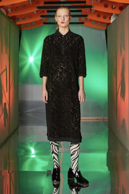 Henrik Vibskov Polo Lace Dress - Black