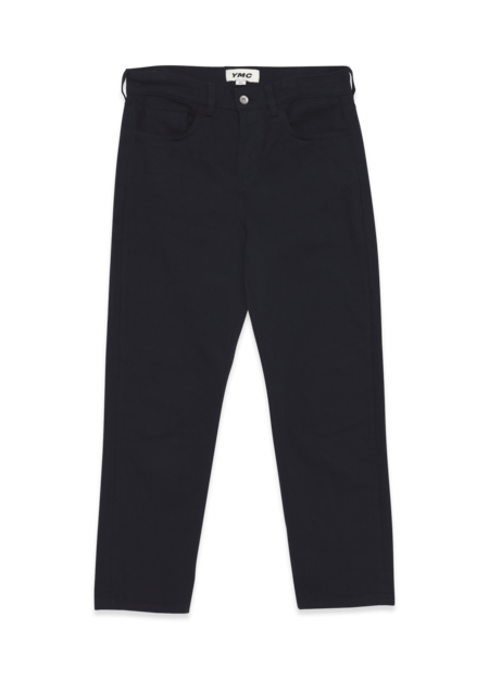 YMC Tearaway Organic Cotton Twill Jeans - Navy