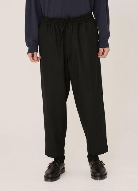 YMC Alva Wool Skate Trousers - Black