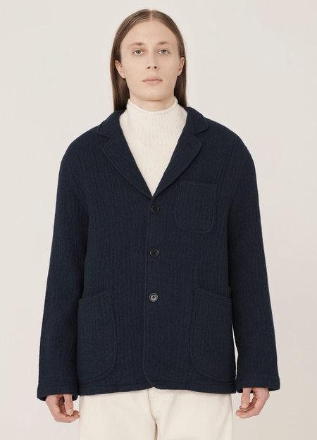 YMC Scuttlers Doubleface Wool Jacket - Navy