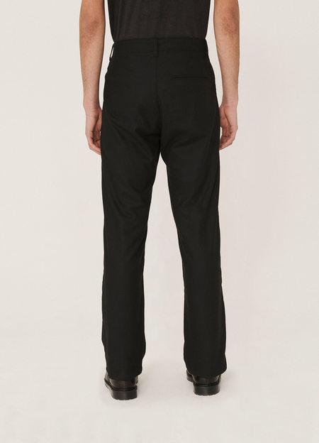YMC Padre Wool Chino Trousers - Black