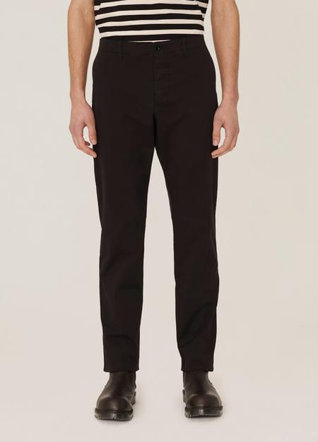 YMC Deja Vu Cotton Twill Trousers - Black