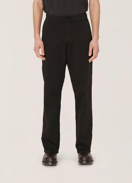 YMC Padre Cotton Twill Chino Trousers - Black