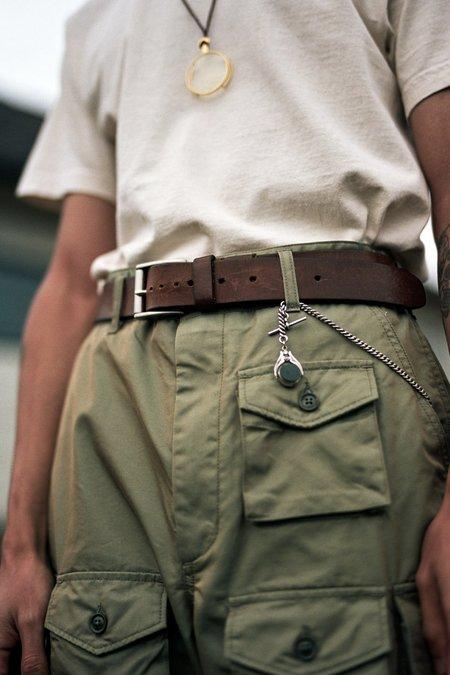 Engineered Garments PC Iridescent Twill FA Pant - Olive