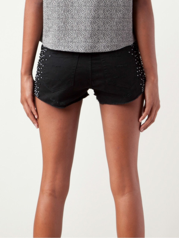 Religion Beaded Shorts