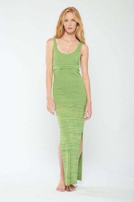 Christopher Esber Deconstruct Tank Dress - Green