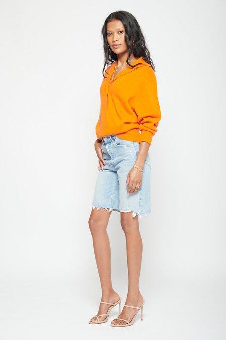 Oversized Polo Sweater
