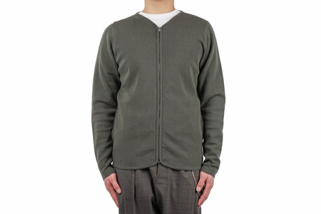 Norse Projects FALKI ZIP - DRIED OLIVE