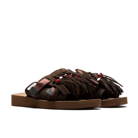 UNISEX SUICOKE Hoto-SCab slippers - BROWN