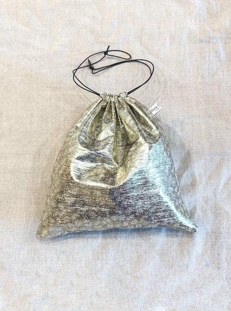 MINT maria la rosa bag Maria La Rosa Metallic Pouch - Grey