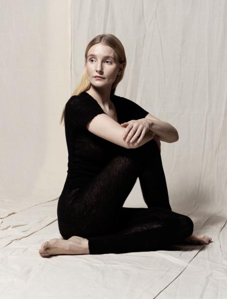 gudrun&gudrun 100% Eco Wool Legging - Black