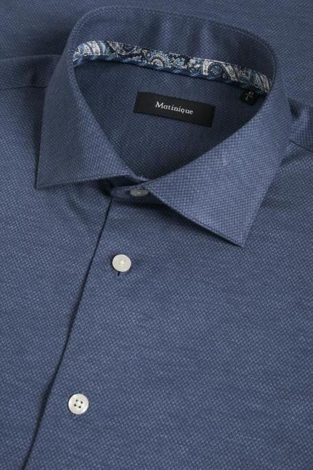MATINIQUE Marc Shirt - Ink Blue