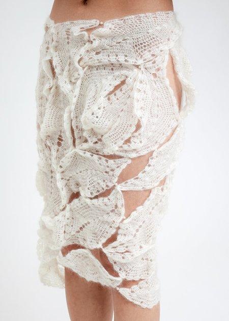 Rui Vapor Crochet Skirt - Vapor