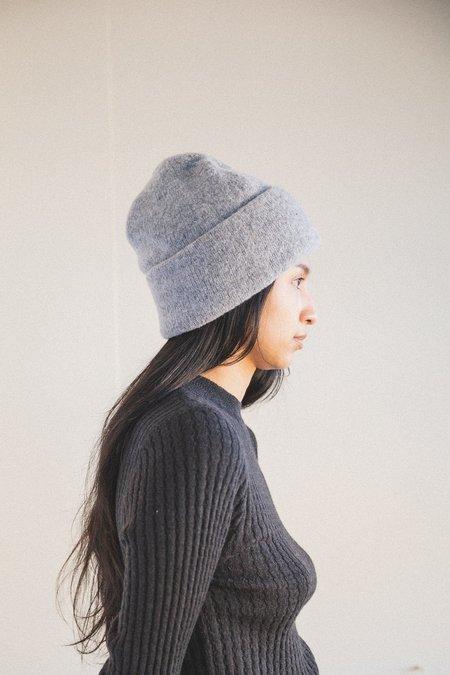Micaela Greg Speckle Boucle Hat - Melange Grey