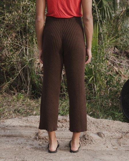 BASERANGE MARU PANTS - BROWN