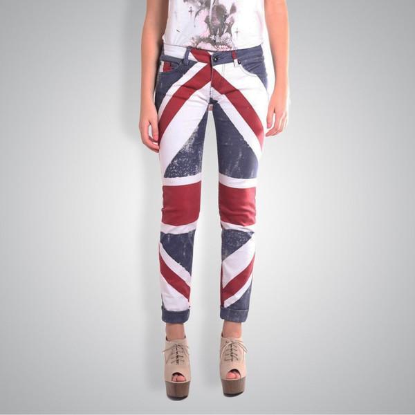 Religion Union Jack Jeans