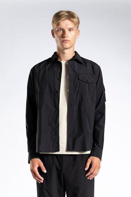 Norse Projects Osvald Windbreaker Shirt - Black