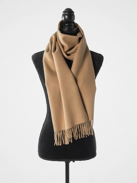 Latierra Classic Solid Brushed Scarf