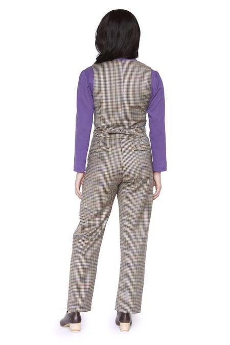 Christine Alcalay Wool Diane Vest