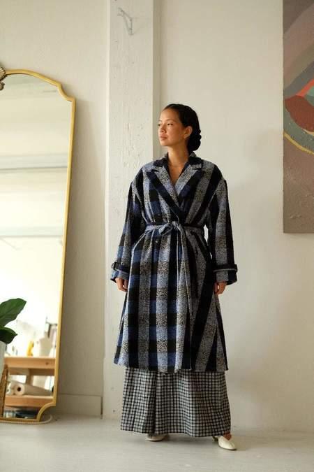 Christine Alcalay Wool Drew Coat