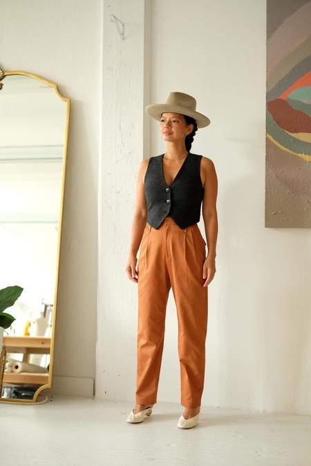 Christine Alcalay Sophia Cotton Twill Pant