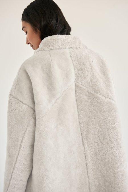 alyson eastman A-Line Coat - White